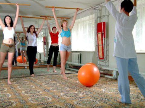 Физические упражнения ускоряют выздоровление