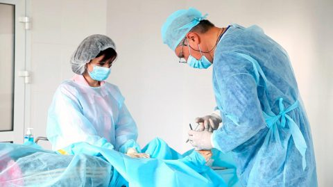Хирургические методы лечения.