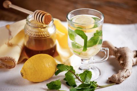 Имбирный чай – простой рецепт, три компонента.