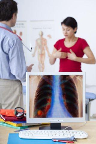 Метатуберкулезные изменения выявляются при обследовании