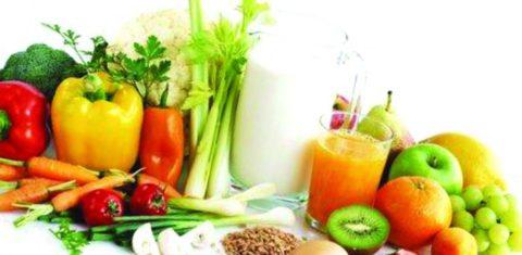 Основные принципы здорового питания при бронхите.