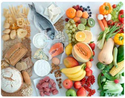 Полезное питание тоже важно