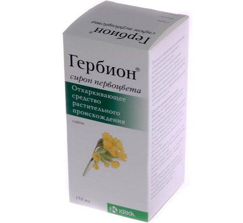 Препарат при сухом кашле