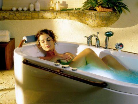 Принятие ванны в острый период болезни запрещено.