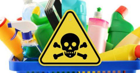 Токсический бронхит возможно получить, даже, при использовании бытовой химии.