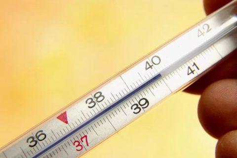 Высокая температура – признак острого процесса