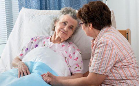Забота и внимание любящих родственников помогут ускорить выздоровление