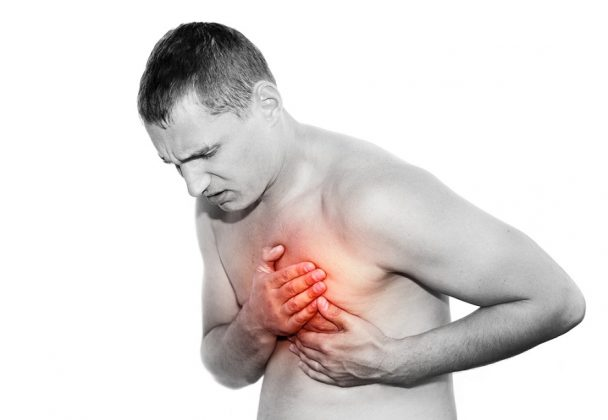 Боль в левой груди и легкое головокружение