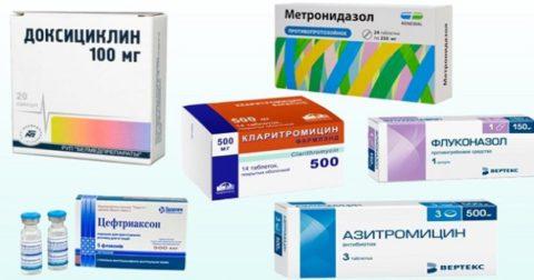 Антибиотики – основной выбор терапии при пневмонии