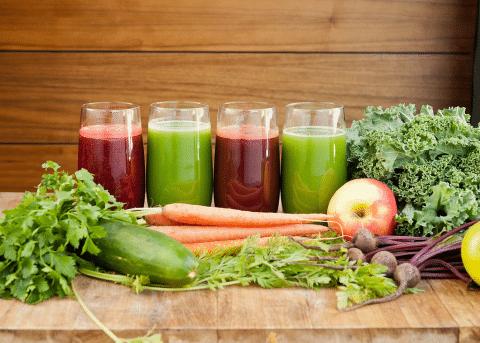 С овощными соками