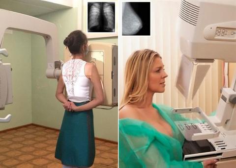 Флюорографическое и маммографическое исследования относятся к лучевой диагностике