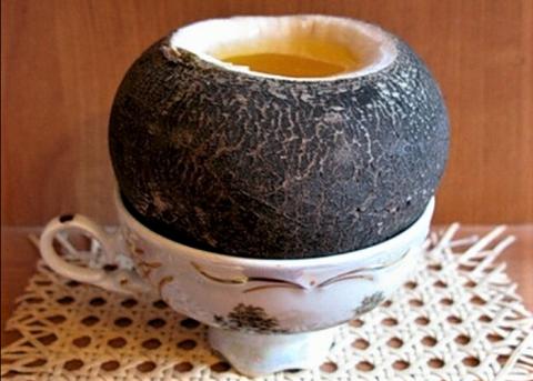 Для наполнения редьки медом лучше брать корнеплод среднего размера